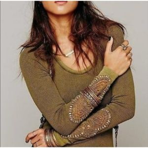 NWOT Free People Synergy Cuff Thermal
